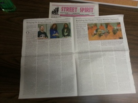 The December edition of Street Spirit is hot off the press!